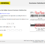 Dollar General Survey at www.DGCustomerfirst.com Portal win $100
